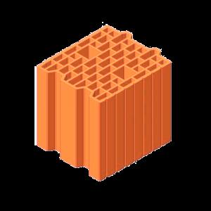 Керамический блок ТеплоКерам 25 (7,62NF)